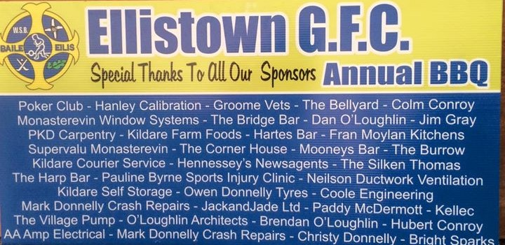 Thank You to our BBQ Sponsors